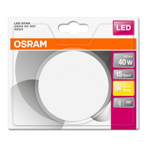 OSRAM LED STAR 6W GX53 2700K 4058075052864