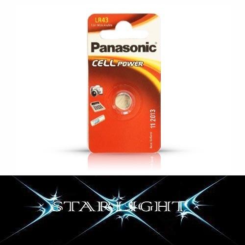 LR43 Panasonic 1.5V Micro-Alkaline