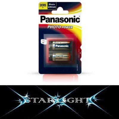 2CR5 Panasonic 6V Lithium