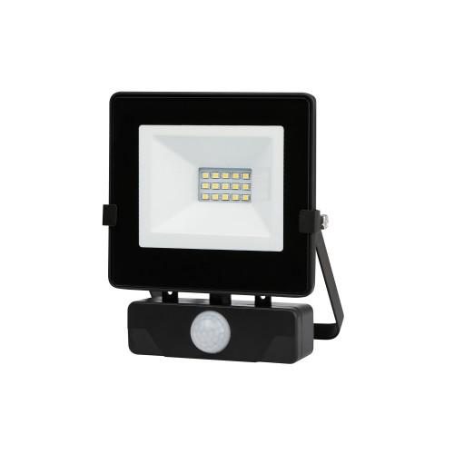 Naświetlacz LED MHNC z czujnikiem 10W barwa CIEPŁOBIAŁA